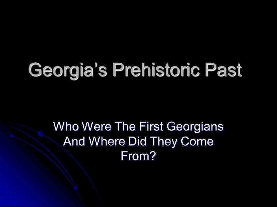 Georgia's Prehistoric Past