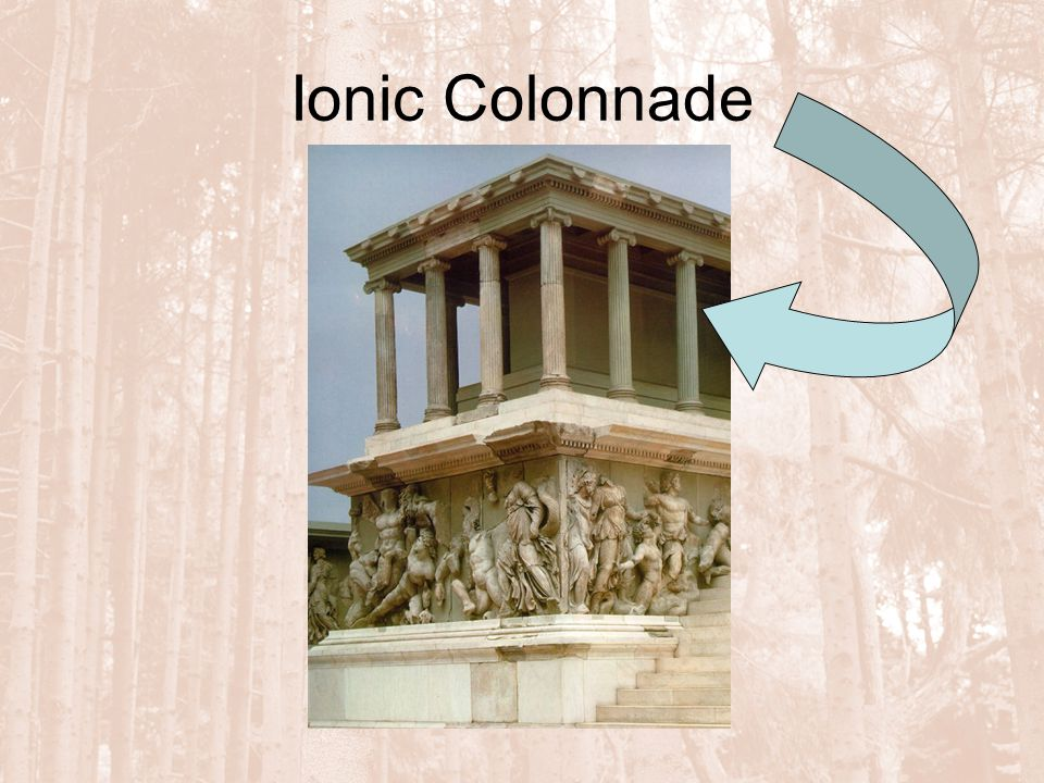 Ionic Colonnade