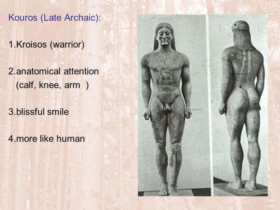 Kouros (Late Archaic):