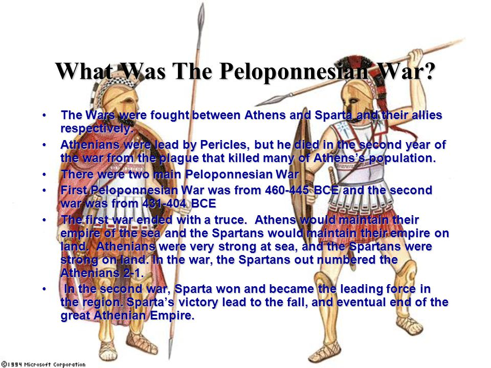 What Was The Peloponnesian War