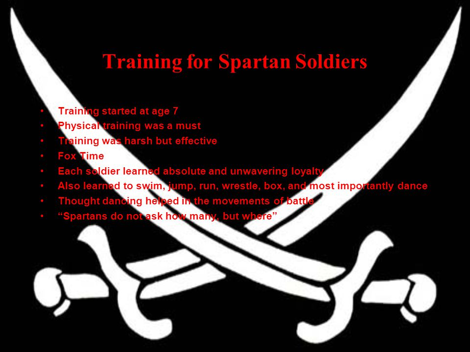Training for Spartan Soldiers