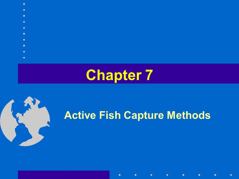Active Fish Capture Methods