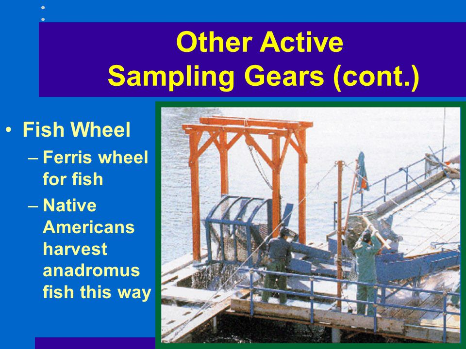 Other Active Sampling Gears (cont.)