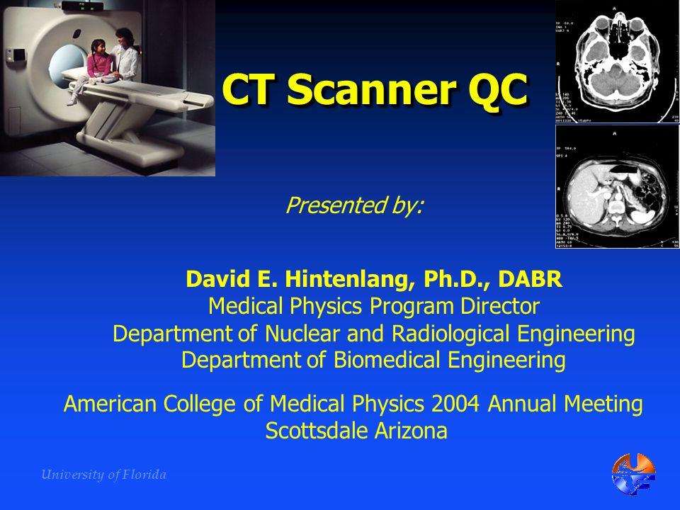 David E. Hintenlang, Ph.D., DABR