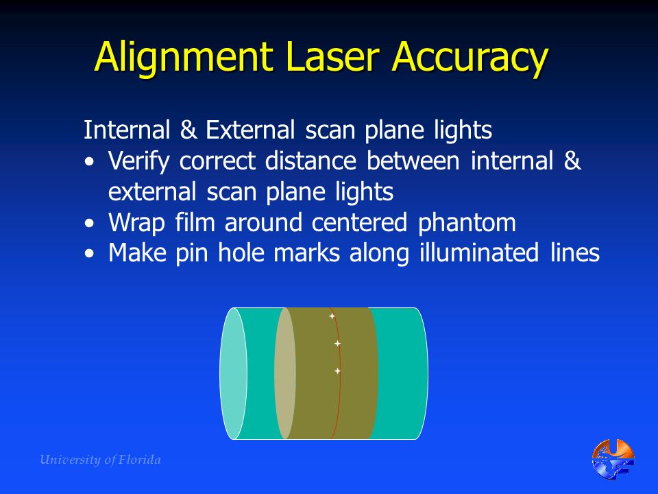 Alignment Laser Accuracy