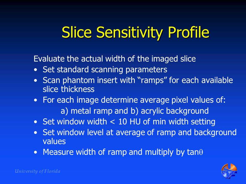 Slice Sensitivity Profile