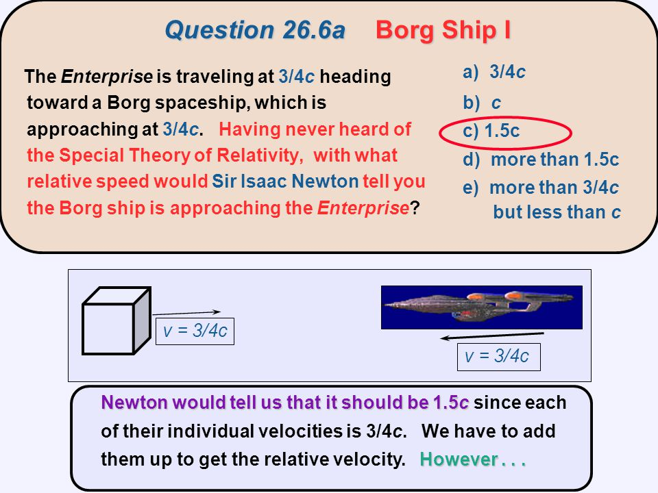 Question 26.6a Borg Ship I