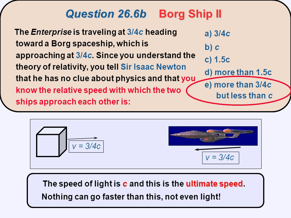 Question 26.6b Borg Ship II