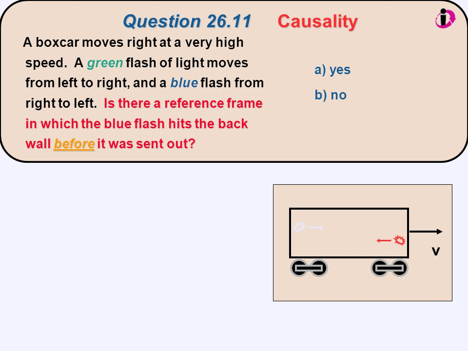 Question 26.11 Causality