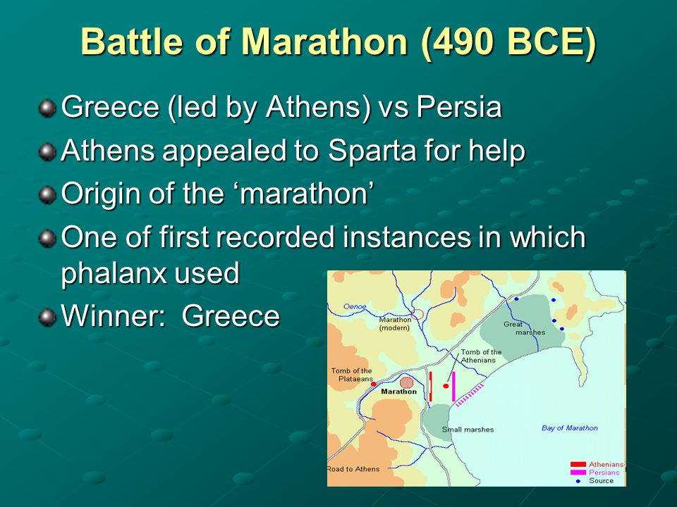Battle of Marathon (490 BCE)