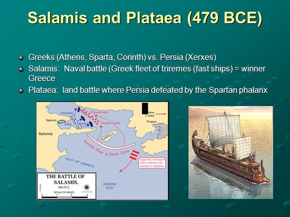 Salamis and Plataea (479 BCE)