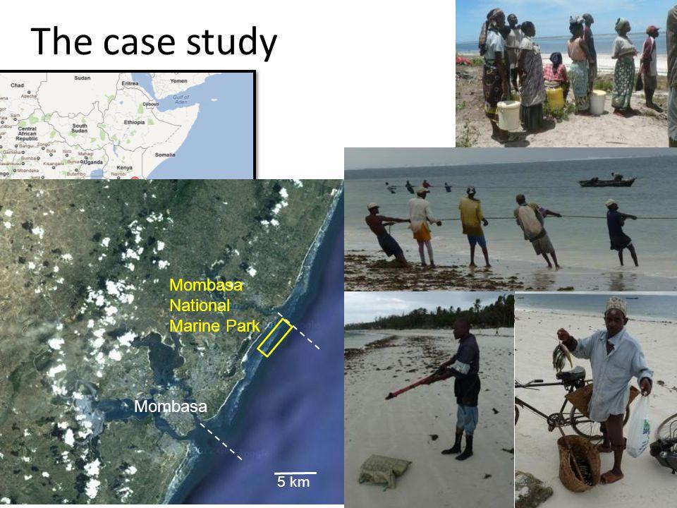 The case study 5 km Mombasa National Marine Park