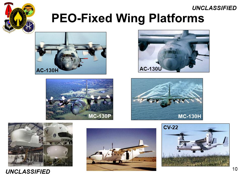 PEO-Fixed Wing Platforms