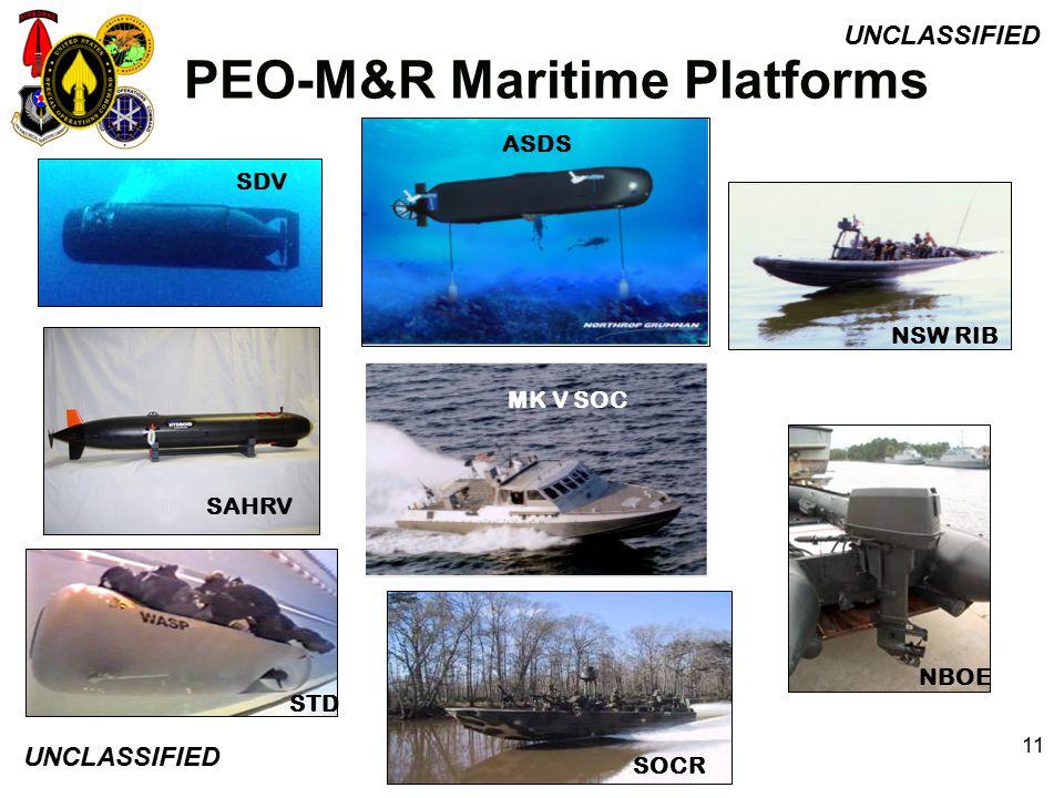 PEO-M&R Maritime Platforms