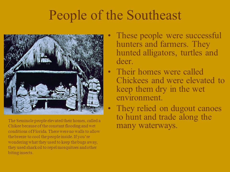 People of the Southeast