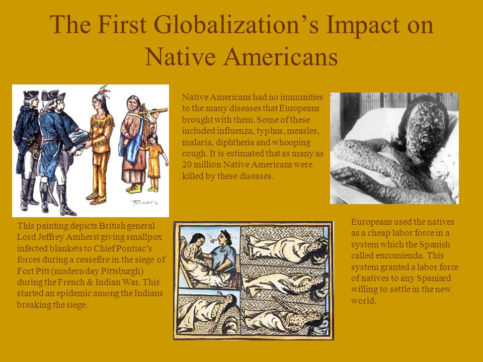 The First Globalization's Impact on Native Americans