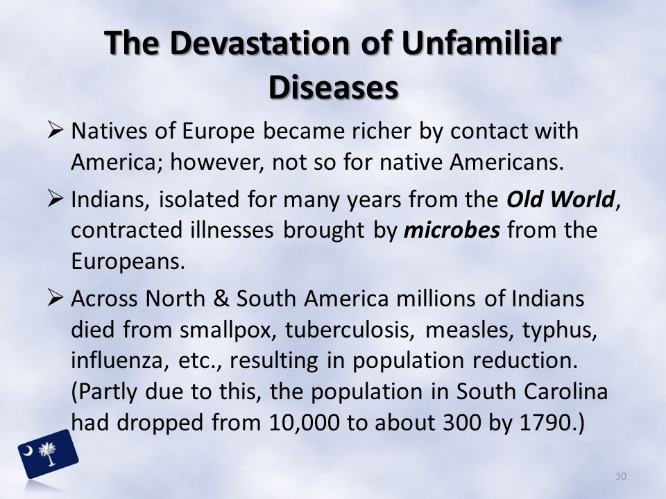 The Devastation of Unfamiliar Diseases