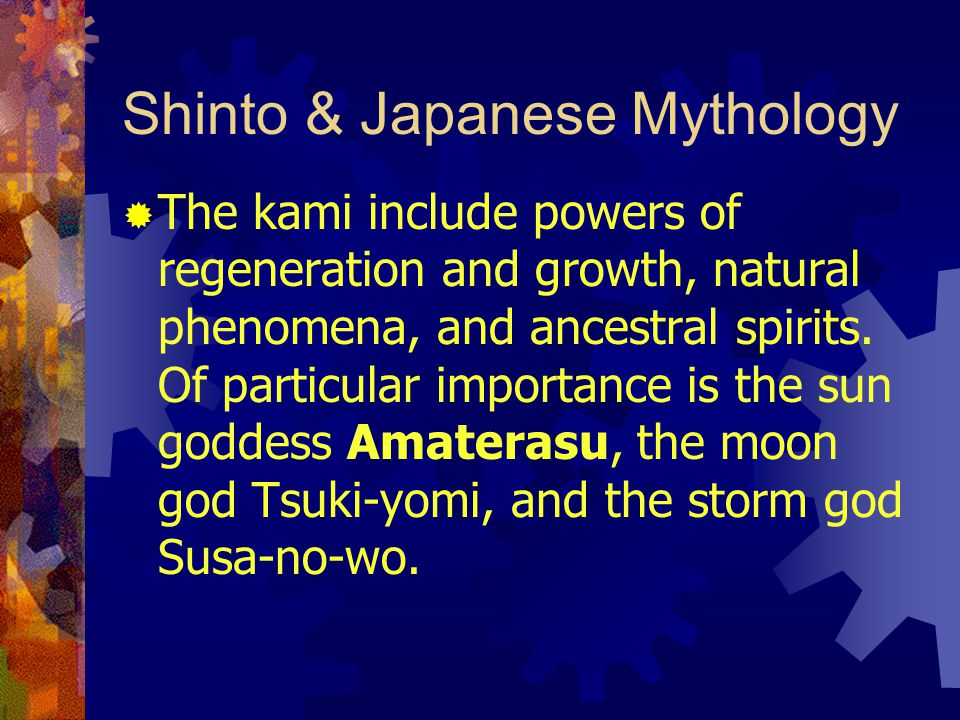 Shinto & Japanese Mythology