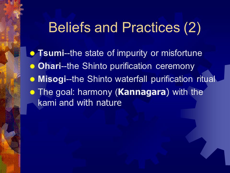Beliefs and Practices (2)