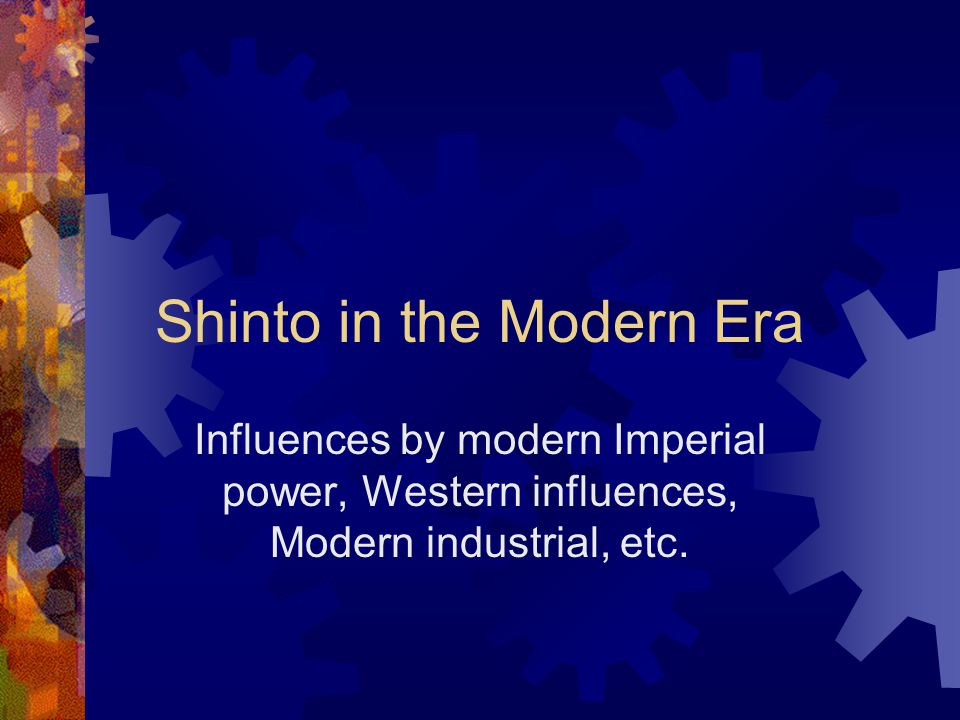 Shinto in the Modern Era