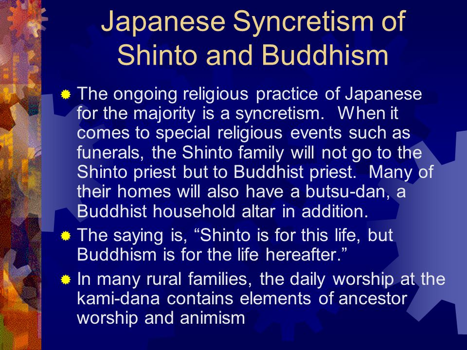 Japanese Syncretism of Shinto and Buddhism