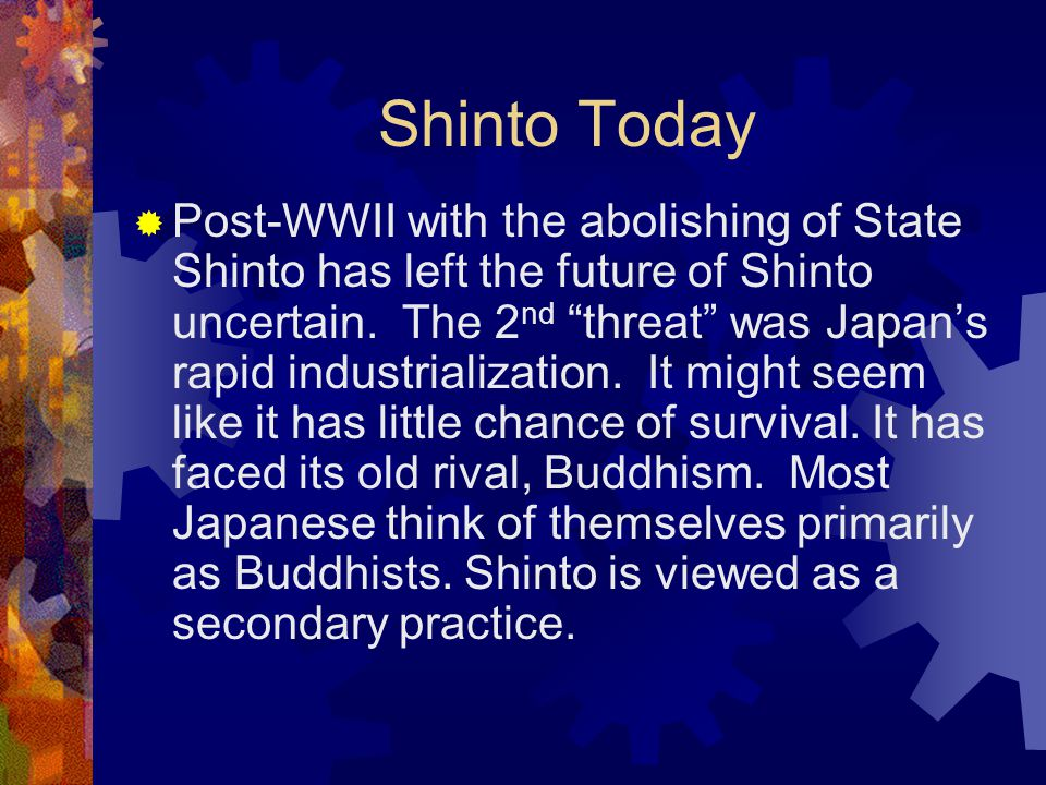 Shinto Today