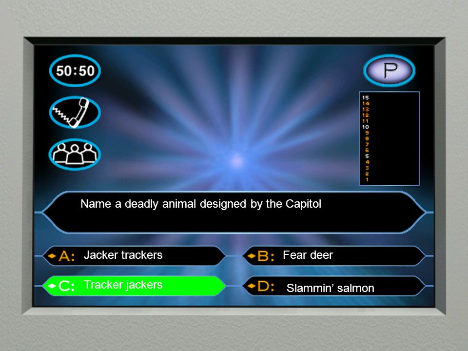 Name a deadly animal designed by the Capitol