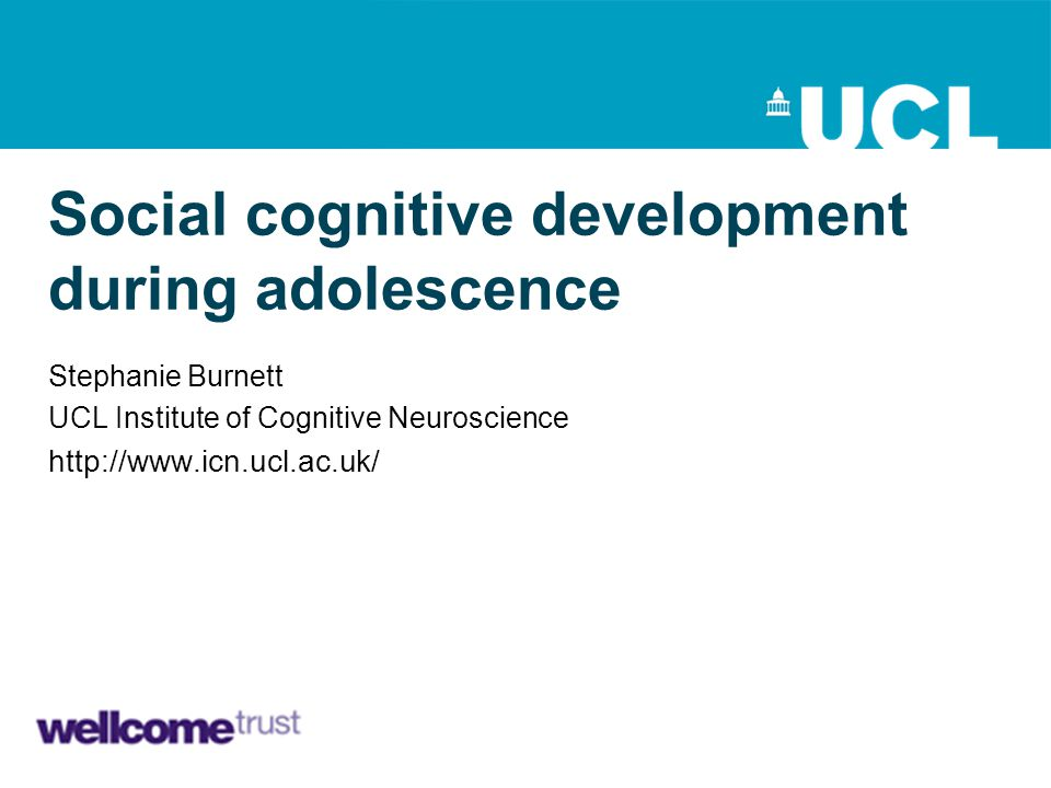 Social cognitive development during adolescence