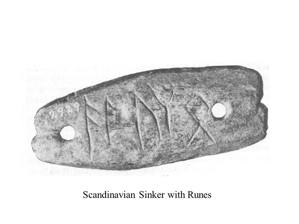 Scandinavian Sinker with Runes