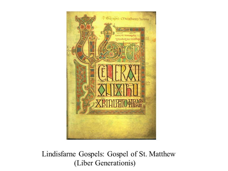 Lindisfarne Gospels: Gospel of St. Matthew