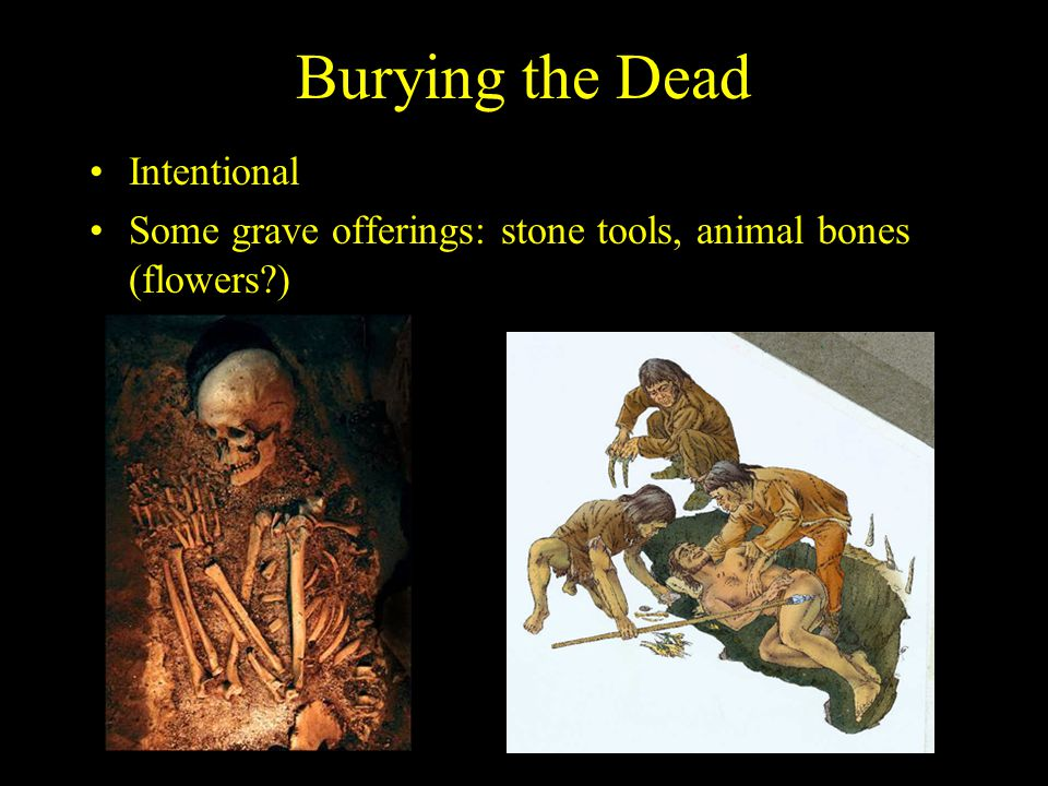 Burying the Dead Intentional