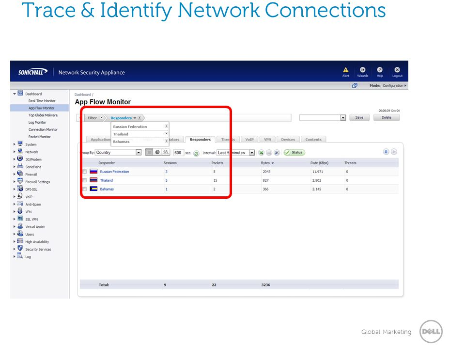 Trace & Identify Network Connections