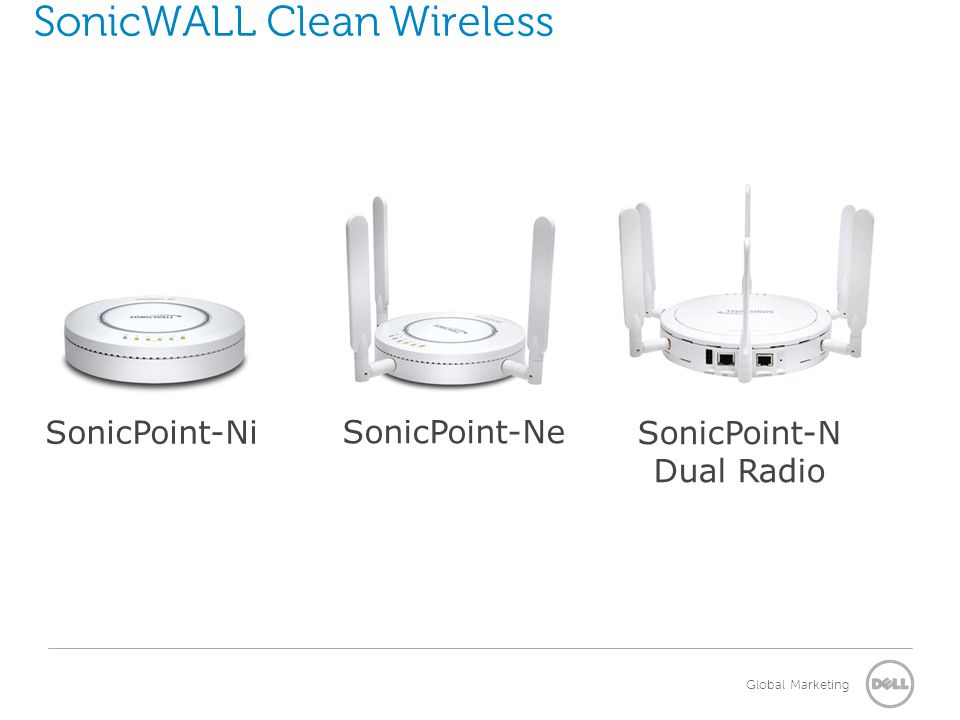 SonicWALL Clean Wireless