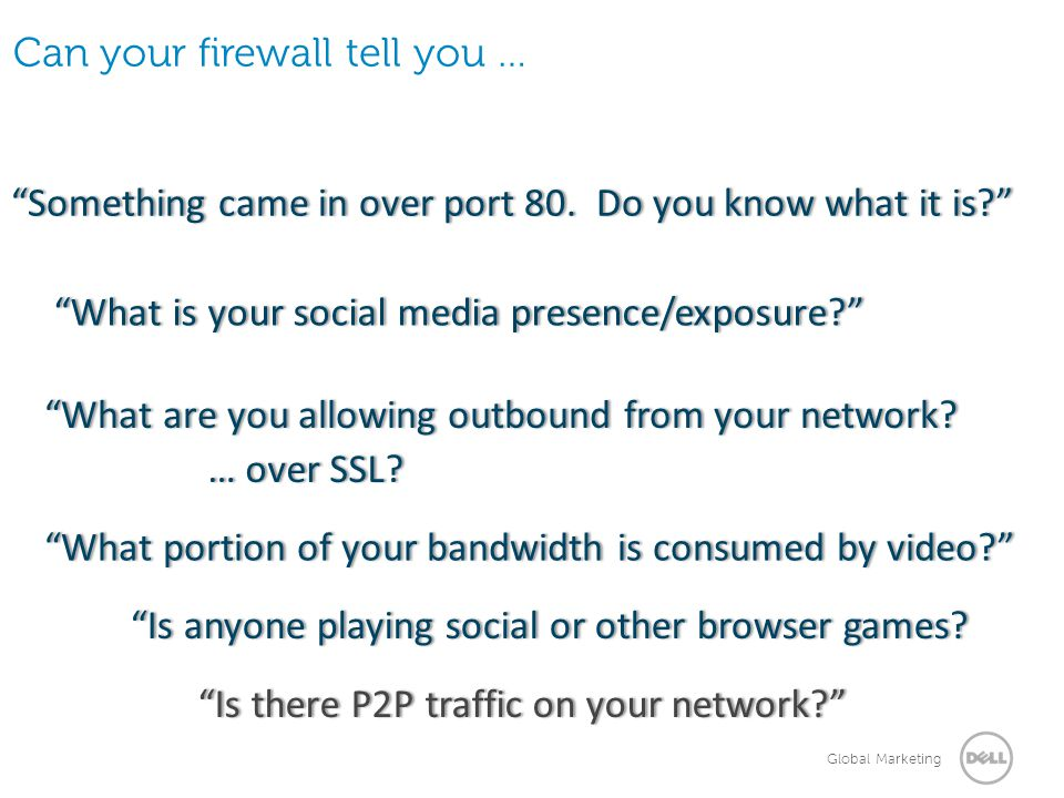 Can your firewall tell you …