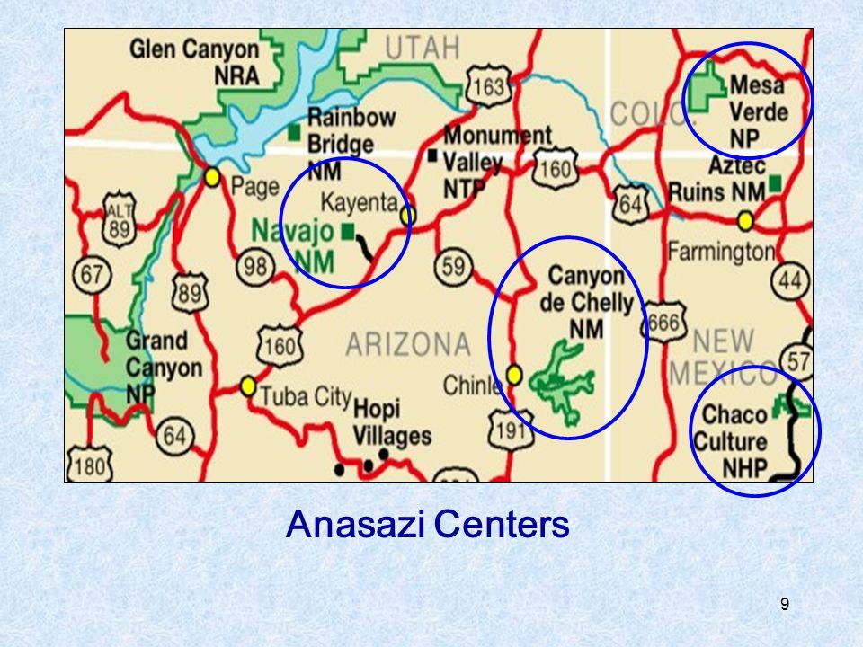 Anasazi Centers