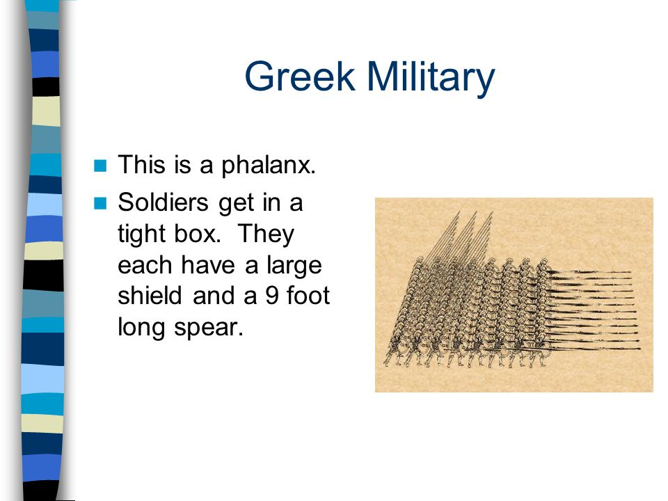 Greek Military This is a phalanx.