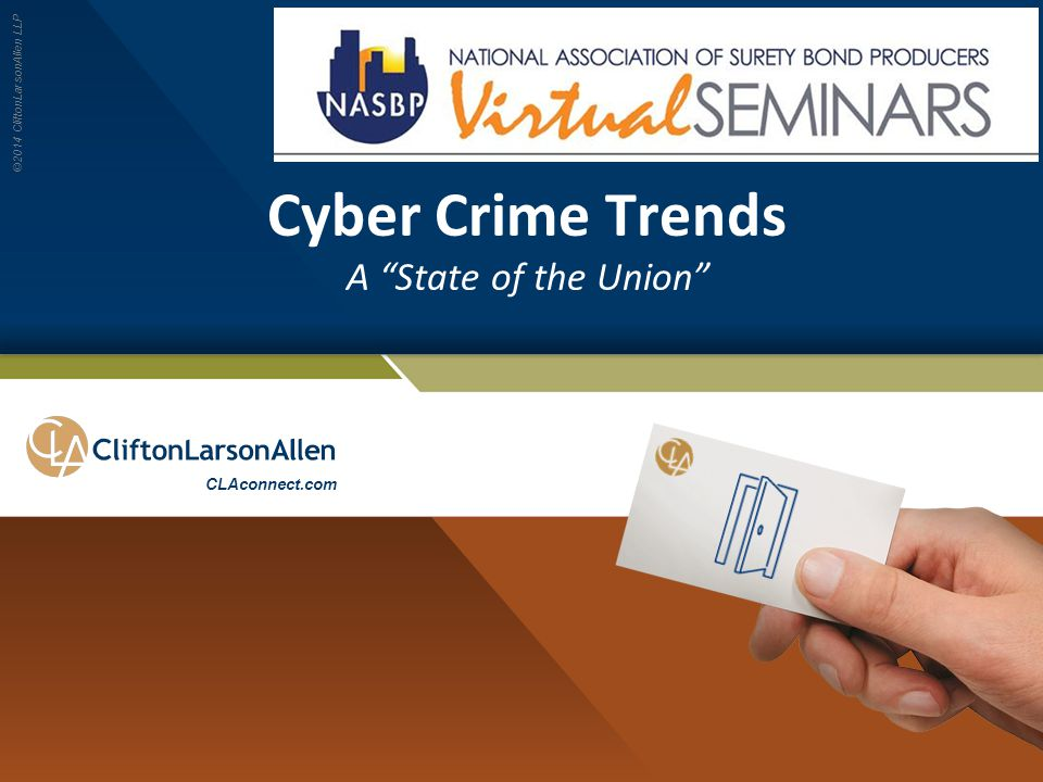 Cyber Crime Trends A State of the Union