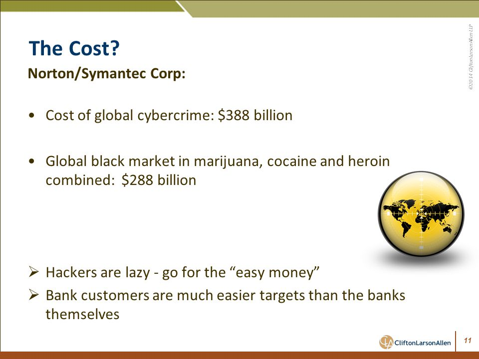 The Cost Norton/Symantec Corp: