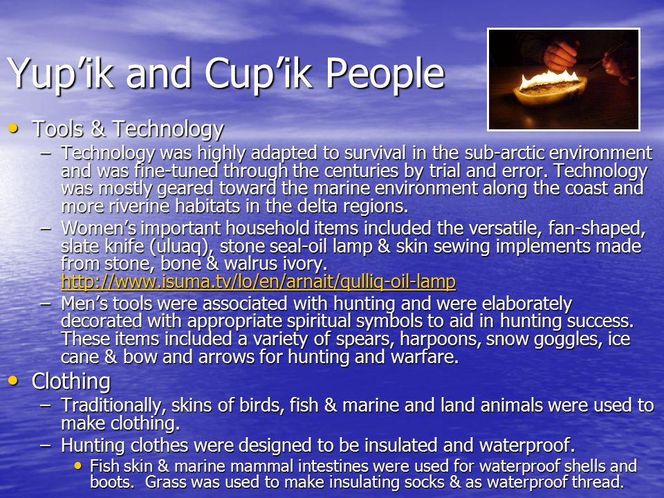 Yup'ik and Cup'ik People