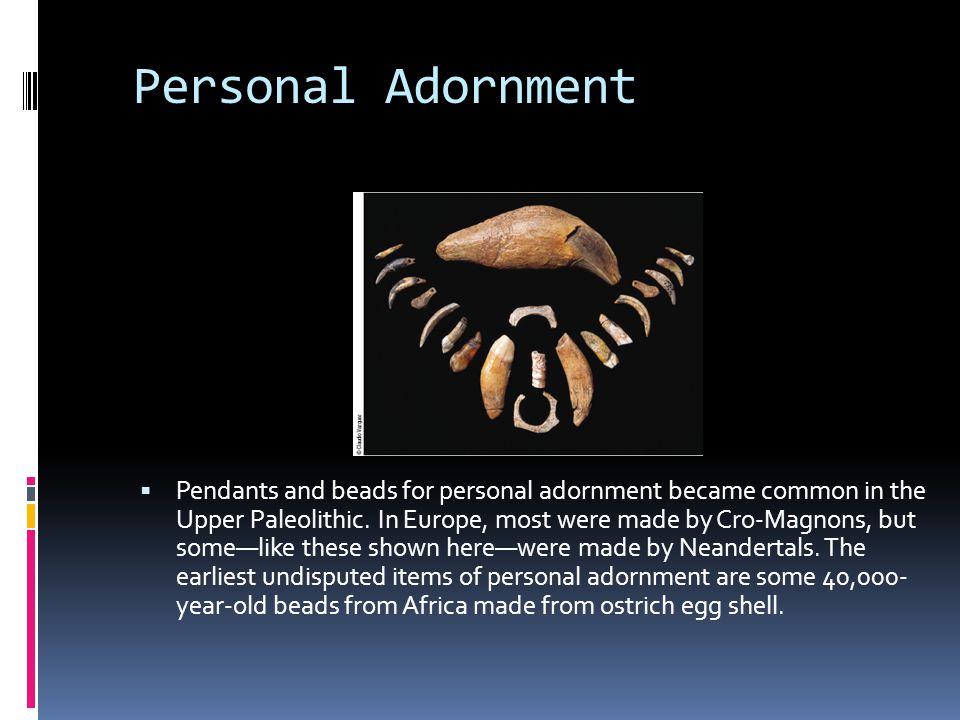 Personal Adornment