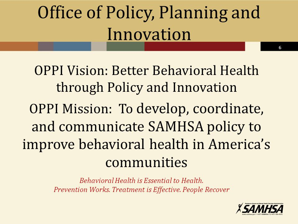Office of Policy, Planning and Innovation