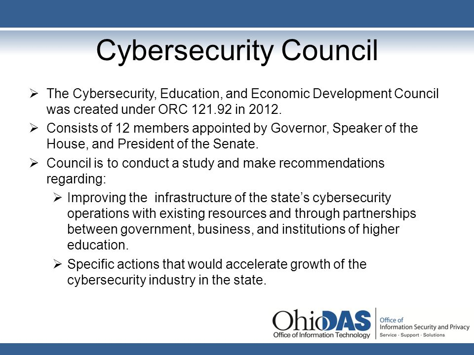 Cybersecurity Council