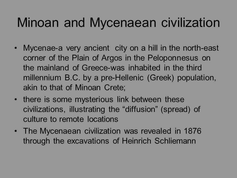 Minoan and Mycenaean civilization