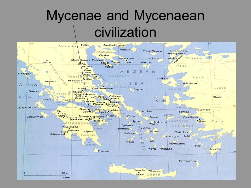 Mycenae and Mycenaean civilization