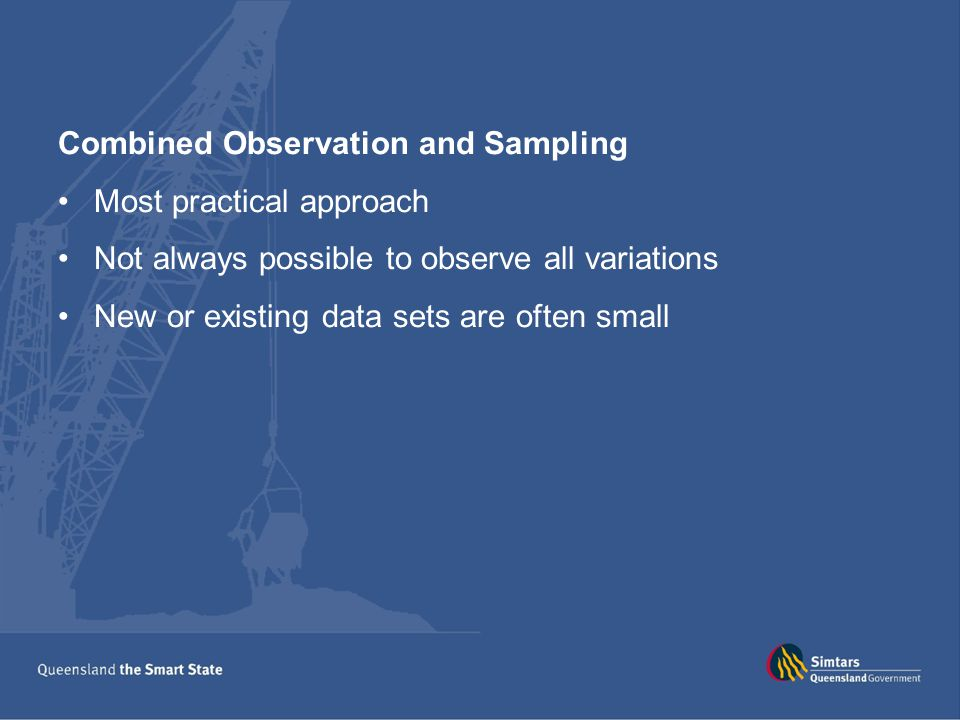 Combined Observation and Sampling