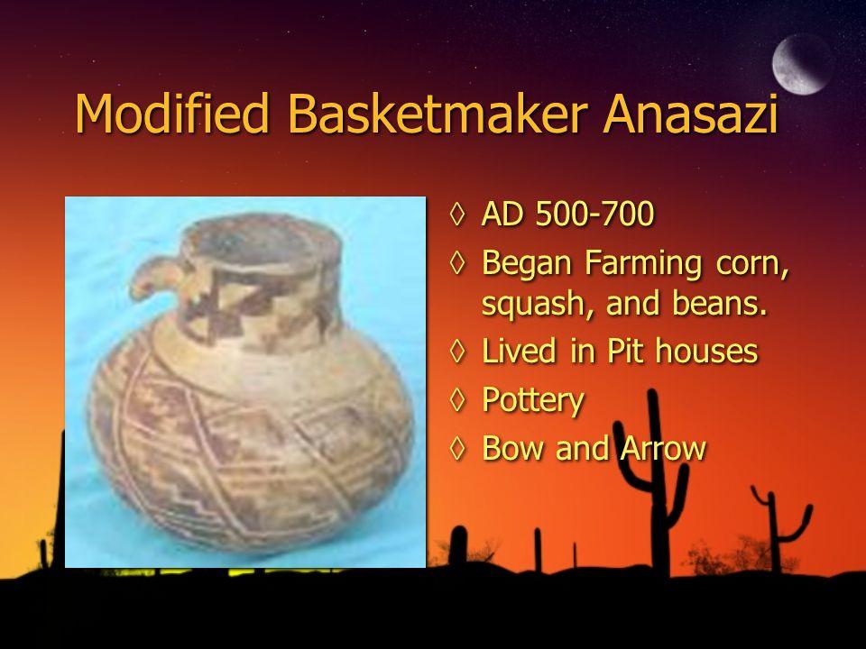 Modified Basketmaker Anasazi