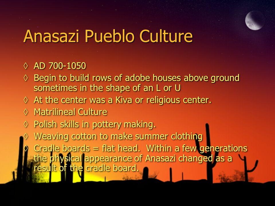 Anasazi Pueblo Culture