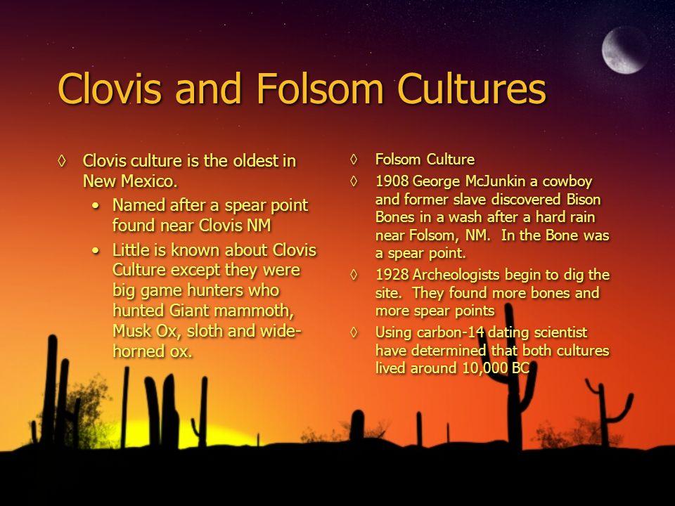 Clovis and Folsom Cultures