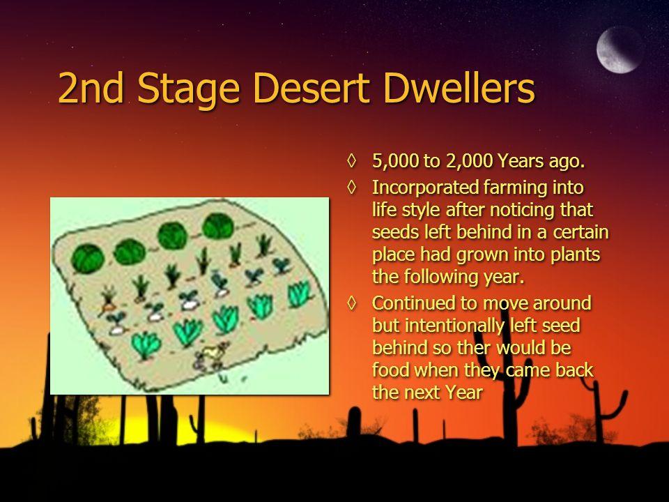 2nd Stage Desert Dwellers