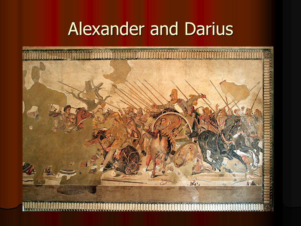 Alexander and Darius
